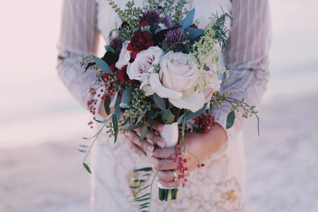 свадьба для двоих букет