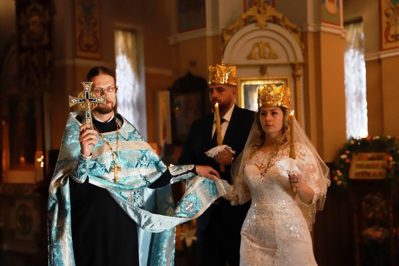 парвославный обряд венчания