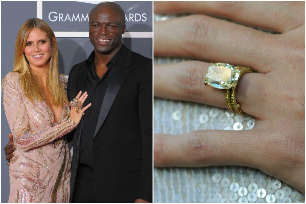обручальное кольцо с желтым бриллиантом