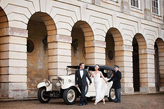 авто для свадьбы в стиле ар деко