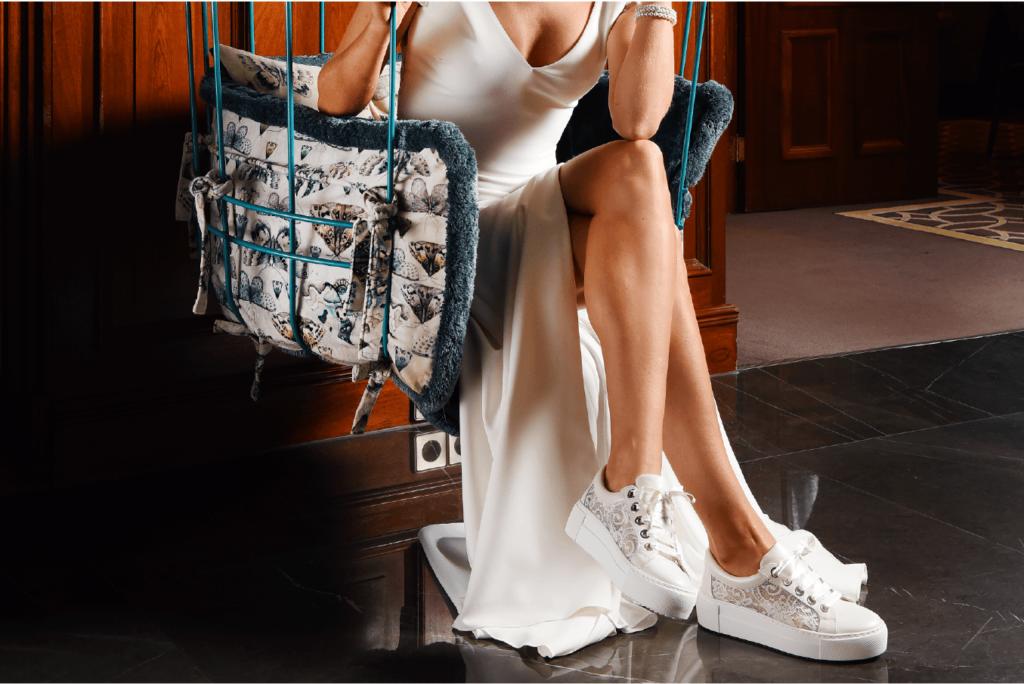 свадебные кроссовки