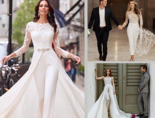 свадебный комбинезон вместо свадебного платья
