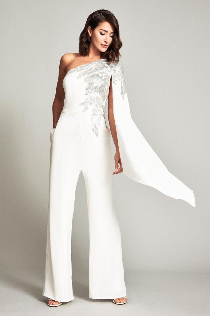 свадебный комбинезон с вышивкой