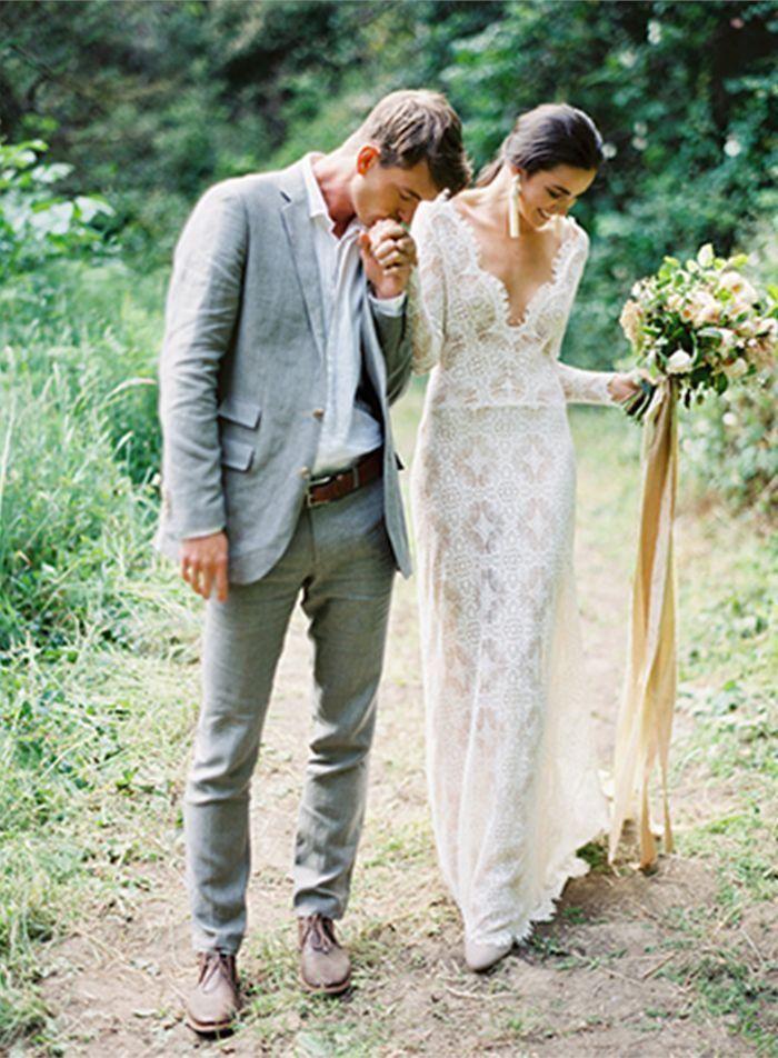 повседневный свадебный костюи