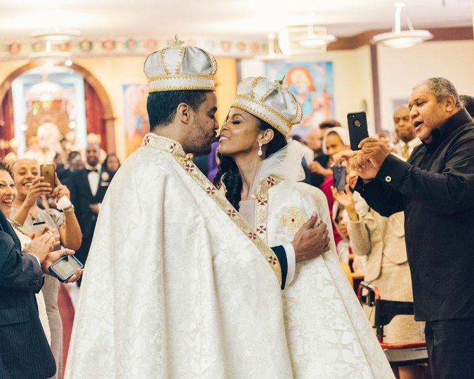 коптская свадебная церемония